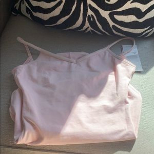 Capezio light pink leotard.. new with tag